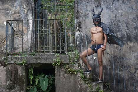 Heroic Perspective-Shifted Photography - M.A.F.I.A. Explores What a Poor Batman Would Look Like