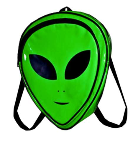 Nostalgic Martian Accessories - The Alien Backpack by O-Mighty Revives 90s Fashions