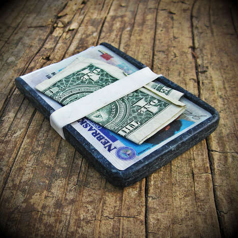Upcycled Denim Cash Carriers - Denimite Turns Old Levis into New Wallets and Rings