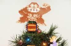 Retro Arcade Xmas Tree-Toppers - These Donkey Kong Christmas Ornaments Help Keep the Holidays Geeky