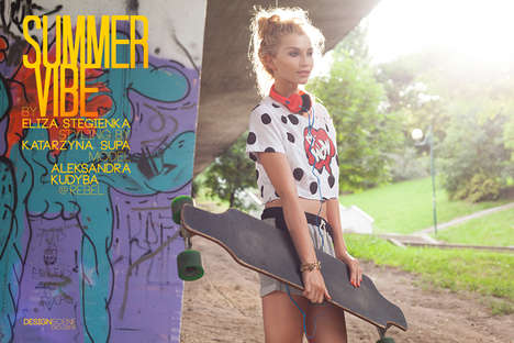 20 Chic Skater Girl Styles - From Bohemian Skater Portraits to City Skater Lookbooks