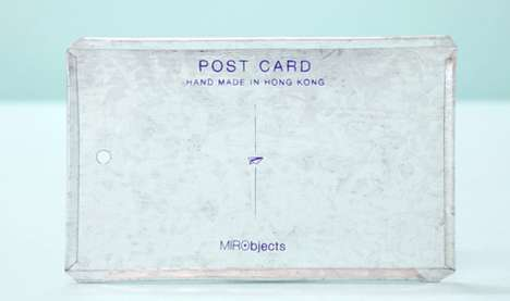 Indestructible Snail Mail - The MIRO Post Card Puts Your Memories to Metal for Damage-Proof Messages