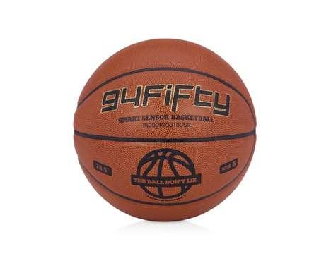 Hi-Tech Sports Balls - The 94Fifty Smart Sensor Basketball Tracks Muscle Activity