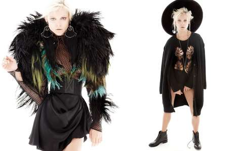Boldly Avant Garde Fashion - The ELLE Mexico December 2013 Photoshoot Stars Viktoriya Sasonkina