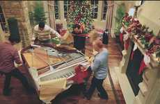 Eccentric Piano Christmas Carols