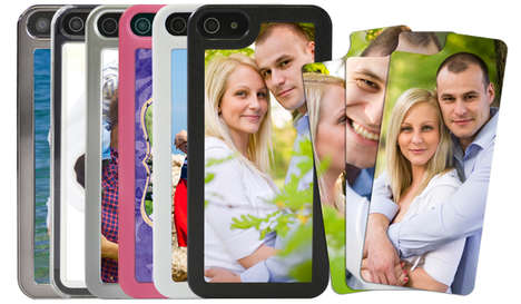 Picture Frame Smartphone Cases - Personalize Your Favorite Tech Gadget with the Picture iPhone Case