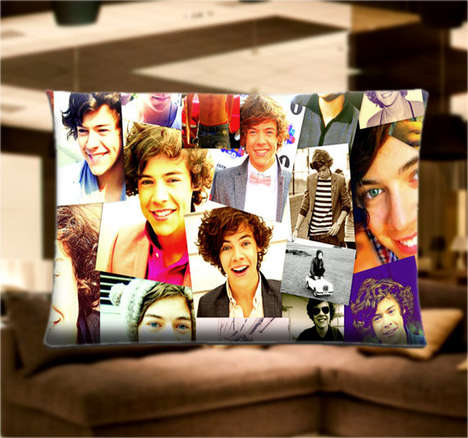 Popstar-Obsessed Pillows - This Harry Styles Pillowcase is Perfect for a One Direction Fan