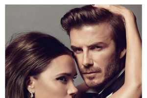 Victoria and David Beckham Steam Up Vogue Paris January 2014