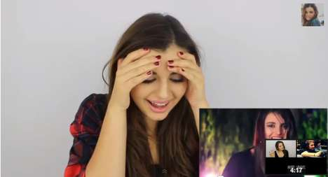 Adolescent Regret Reaction Videos - Rebecca Black Reacts to 'Friday' Video in a Hilariou