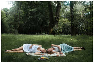 'Breakfast on the Grass' by Kasia Drozd Evokes a Youthful