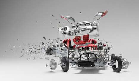 Explosive Car Photography - Fabian Oefner