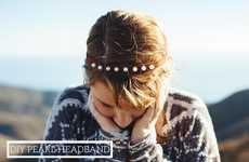Rustic Pearl Headpieces