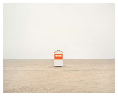 Contemplative Beach Captures - Spiaggia by Akos Major Centers on Empty Italian Beaches