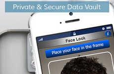 Selfie-Unlocked Phone Apps - The FaceCrypt Password App Unlocks Phones with a Selfie