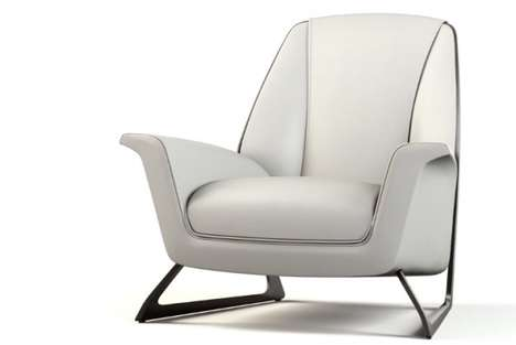 Sleek Auto-Inspired Armchairs - Luft by Audi is Lightweight and Comfortable
