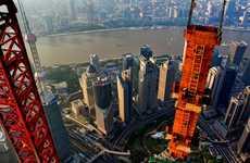 Stunning Aerial Crane Photographs