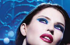 Vivaciously Festive Makeup Ads