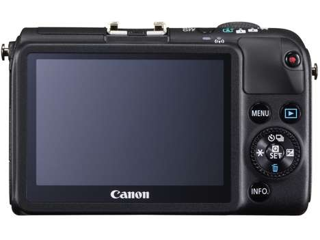 Mirrorless Digital Cameras - The Canon Eos M2 Has EF-M Interchangeable Lenses