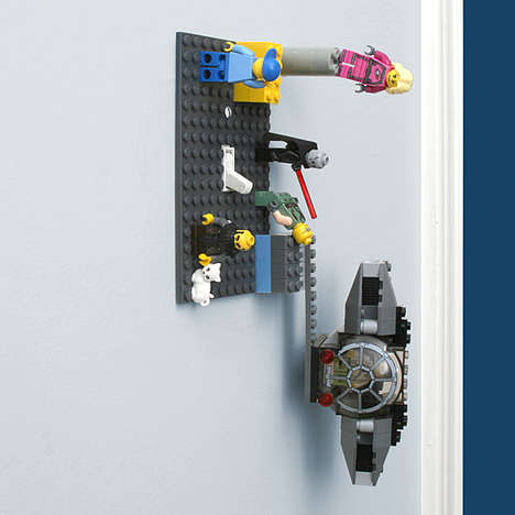 Toy Brick Light Switches - The Building Brick Light Switch Plate Lets the Energy-Conscious Play