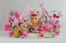 Thought-Provoking Doll Makeovers - The AlteredBarbie Show Deconstructs The Notion of a Barbie Doll