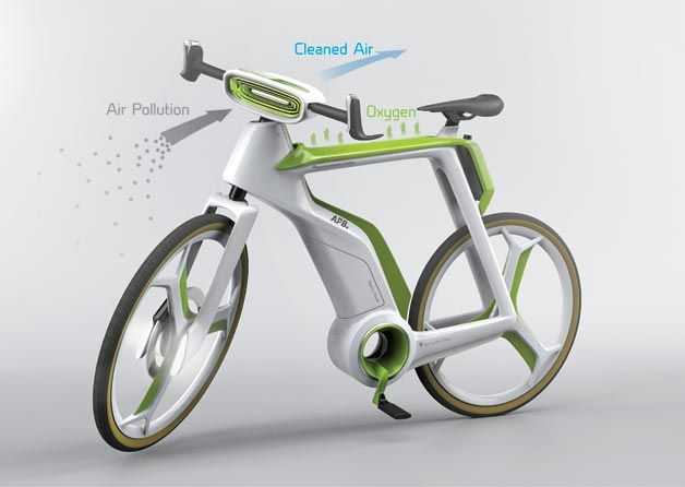 Pollution-Reversing Bicycles