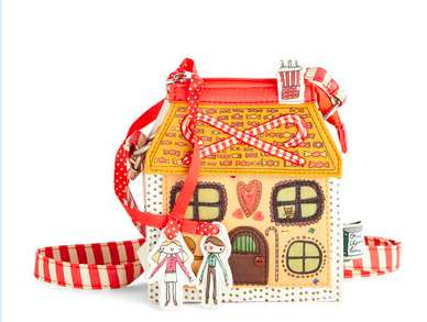 Festive Candy House Purses - This Gingerbread House Bag Will Get You in the Holiday Spirit