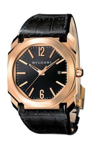 Luxe Geometric Timepieces - The Bulgari Octo Watch Reinvents a Classic Design