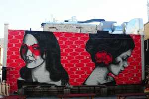 Fin DAC and Angelina Christina Created These Murals for 'Beautify Earth'