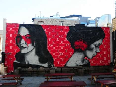 Fierce Femmes Street Art - Fin DAC and Angelina Christina Created These Murals for