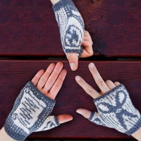 Hand Game-Inspired Gloves - These Mittens Will Settle Scores with a Rock, Paper, Scissors Game