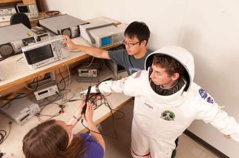 Heat-Powered Spacesuits - Kansas State University Engineers Tackle Other Forms of Power for Space