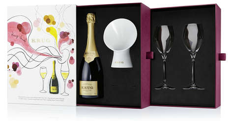 Sound-Enhancing Champagne Amplifiers - Krug Champagne Amplifier Lets You Hear the Sound of Bubbles