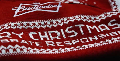 Tweet-Generated Holiday Sweaters - Budweiser UK