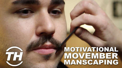 Motivational Movember Manscaping - Paul Maccarone Got a Sweet