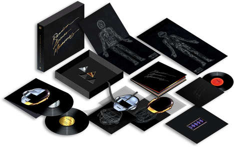 Deluxe Electronic Duo Giftboxes - The Daft Punk Deluxe Edition Boxes Are Packed with Treats for Fans