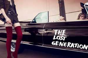 'The Lost Generation' Editorial for Vogue Japan is Edgy and Youthful