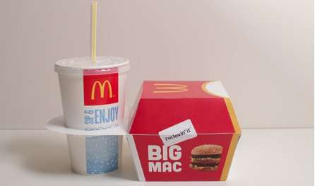 Compact Fast Food Containers - Rob Bye Designs a New Concept for McDonald's Fast Food Containers