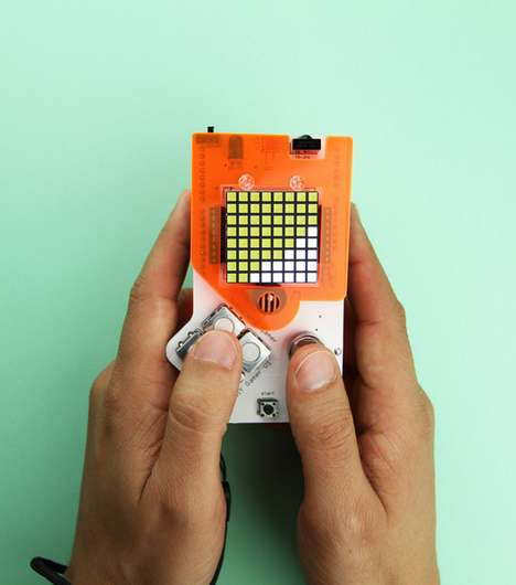 Stripped-Down Handheld Consoles - The DIY Gamer Kit Allows People to Build Their Own Gameboy