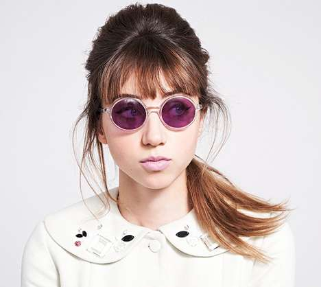 Femininely Retro Eyewear - The Leith for Warby Parker Collection is Whimsical and Retro