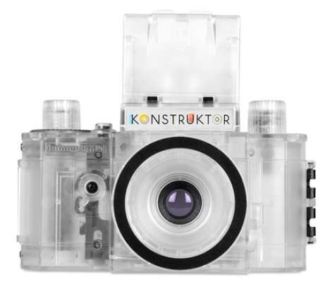Clever Transparent Cameras - Lomo Konstruktor Has Come Out With a New See Through Camera