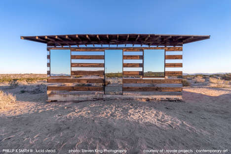 Virtually Transparent Desert Homes - The Transparent House by Philip K Smith is Surreal