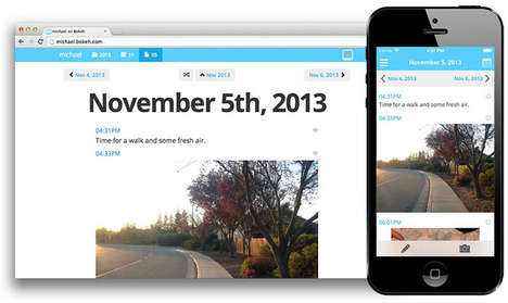 Live-Blogging Life Apps - The Bokeh App Makes Writing About Your Life Easier Than Ever