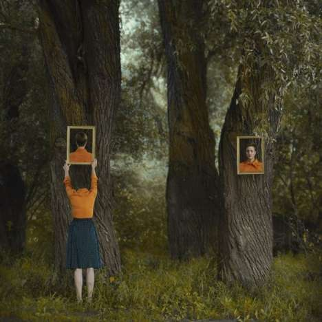 Surreal Nature Photography - Photographer Alicja Bloch Creates Surreal Shots with Nature Settings