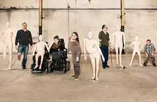 Disabled Mannequin Campaigns - The Pro Infirmis Realistic Mannequins Celebrate Bodies of All Kinds