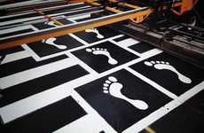 Graham Coreil-Allen's Hopscotch Crosswalk Art Inspires Whimsical Walking