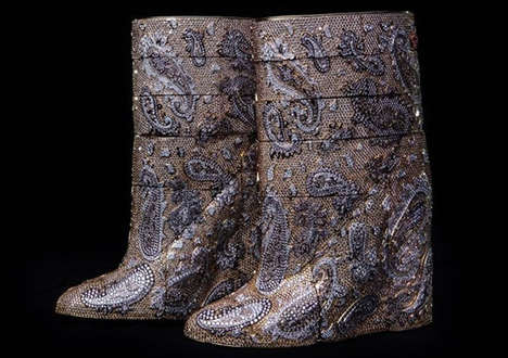 $3.1 Million Boots - Label A.F Vandevorst is Behind the World