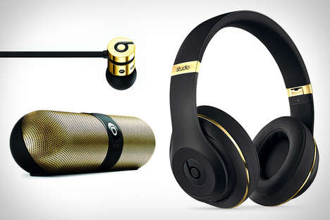 Luxury Designer Audio Accessories - The Beats by Alexander Wang Collection is Sleek and Stylish