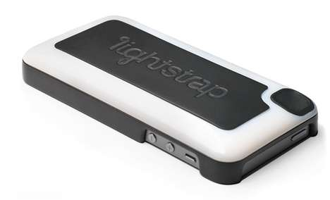 Smartphone Strap Lighting Cases - The Lightstrap Smartphone Case Has a Flash and Video Strap