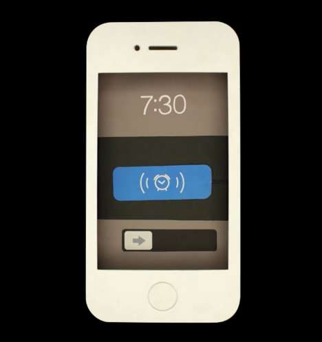 Monotonous Smartphone Skeuomorphs - Skew is a Stop Motion Clip on Everyday Life in the Digital World