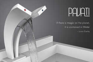 The Pavati Tap by Salmon Nortje Looks Like a Futuristic Waterfall
